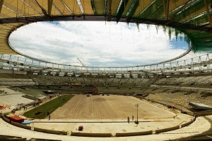 Maracana gress hele stadion