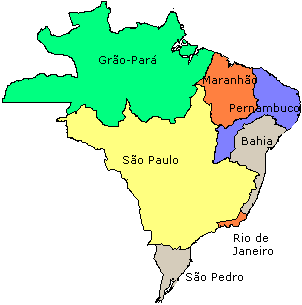 Brazil states 1709