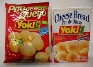 yoki pao de queijo
