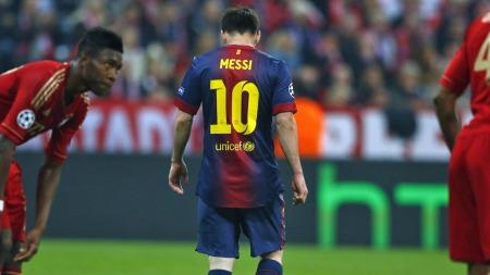 Lionel Messi tap
