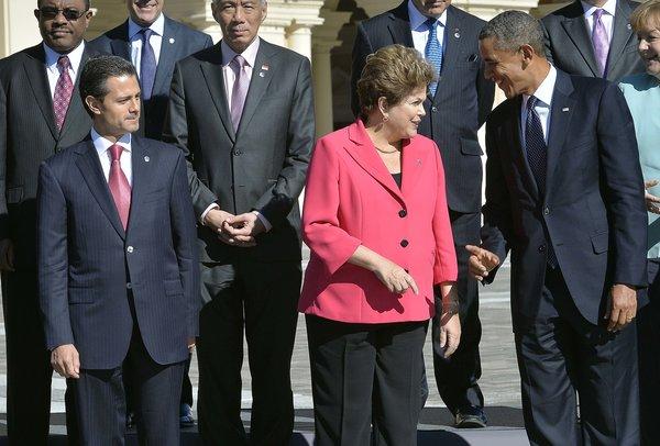 Dilma + Obama G20
