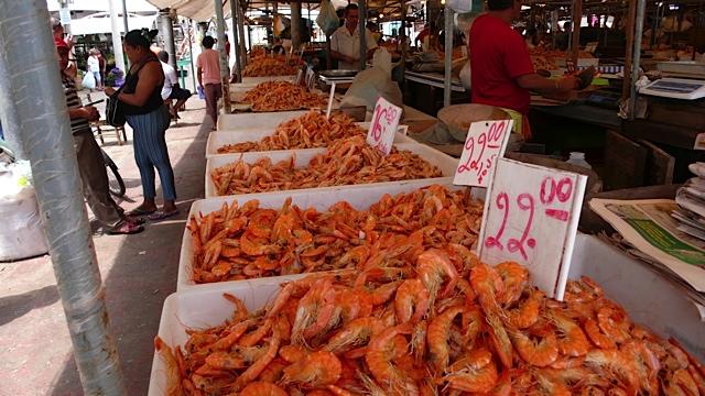 Para market shrimps Torkjell Leira