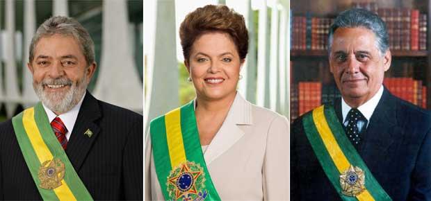 dilma_lula_FHC presidentes