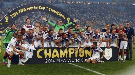 Tyskland vinner VM 2014