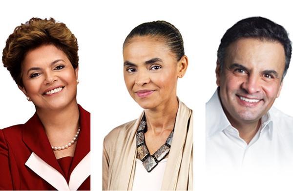 Dilma, Marina, Aecio