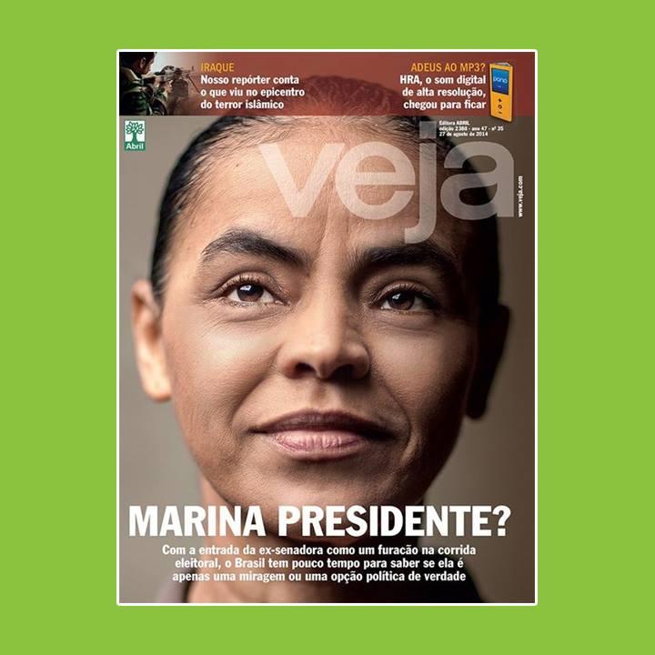 Marina Silva capa Veja