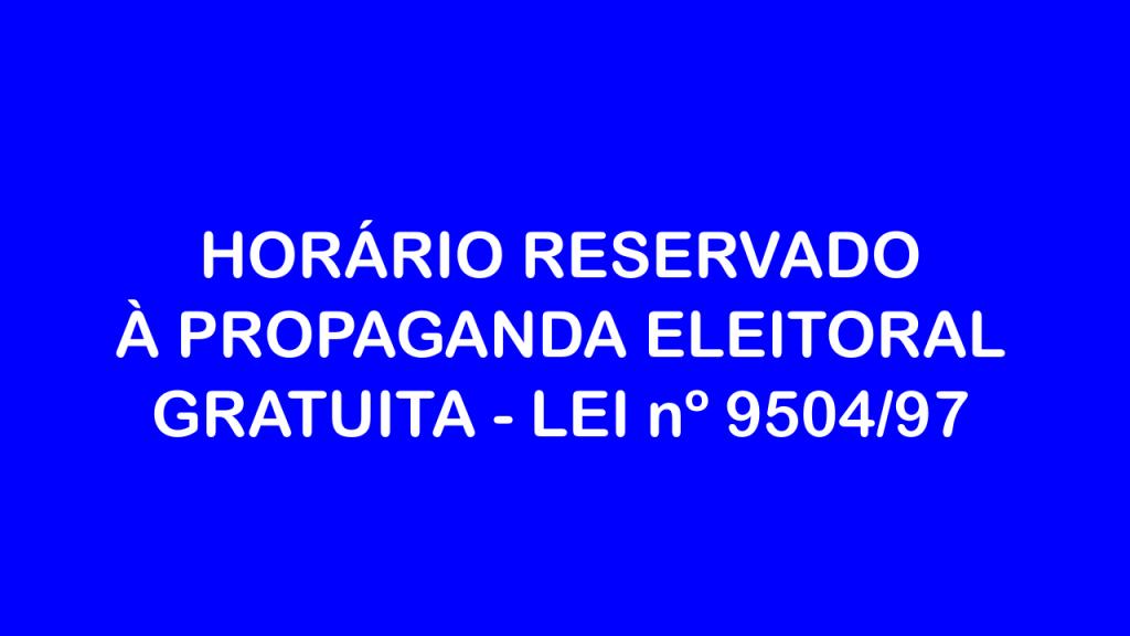 horario eleitoral