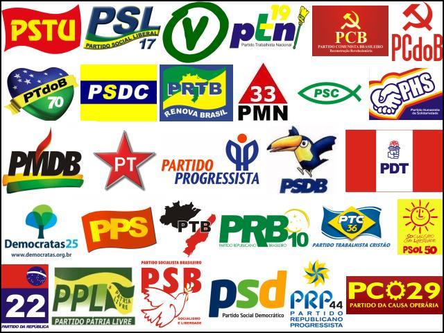 logo partidos Brasil