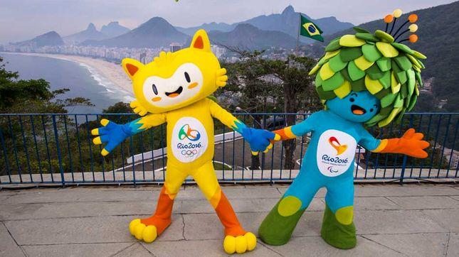 OL Mascotes Rio 2016