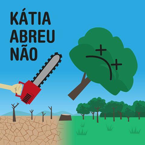 Katia Abreu nao