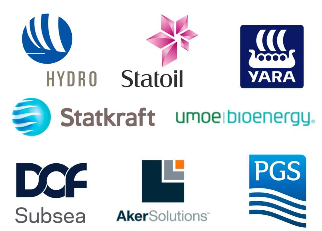 8 logoer norske selskaper i Brasil