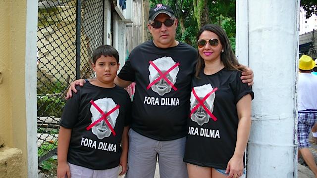 protest anti dilma Belem 2