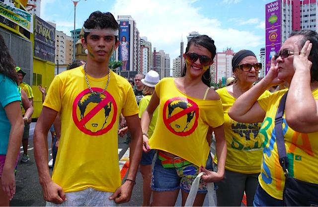 protest anti dilma belem