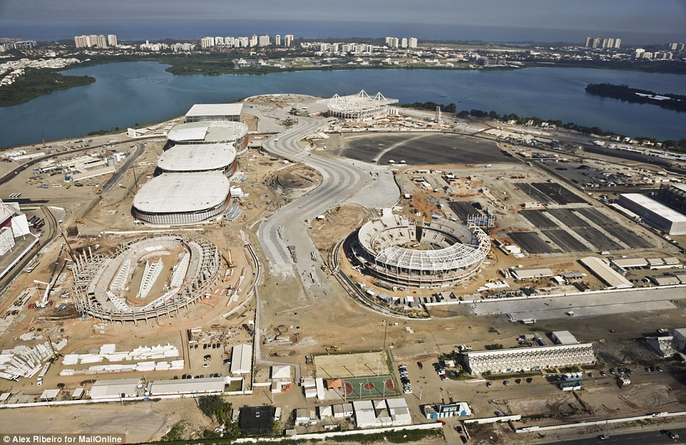 Construction site Rio 2016