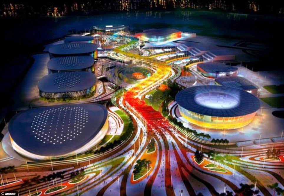 Rio 2016 Barra park