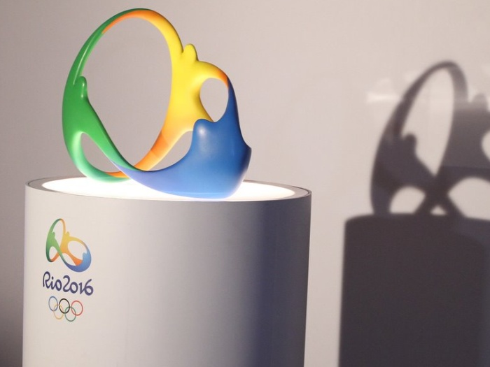 OL 2016 logo 3D