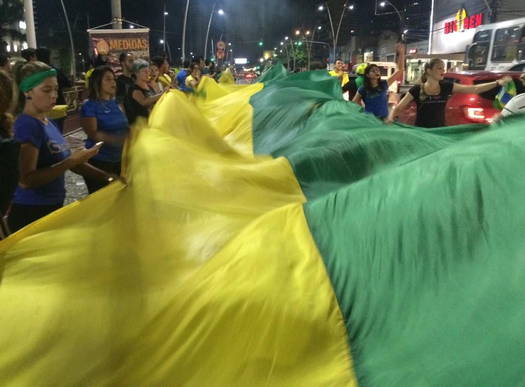 Protest Flagg Belem