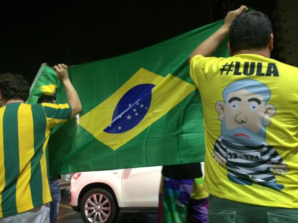 Protest Lula Belem